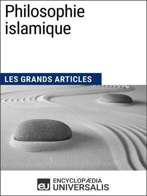 cover image of Philosophie islamique