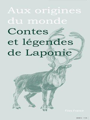 cover image of Contes et légendes de Laponie