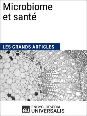 cover image of Microbiome et santé