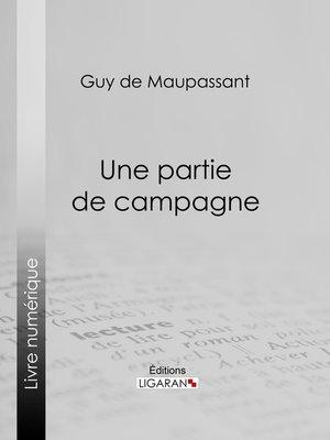 cover image of Une partie de campagne