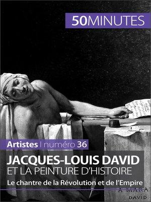 cover image of Jacques-Louis David et la peinture d'histoire
