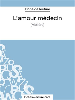 cover image of L'amour médecin