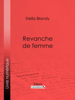 cover image of Revanche de femme