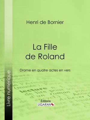 cover image of La Fille de Roland