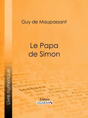 cover image of Le Papa de Simon