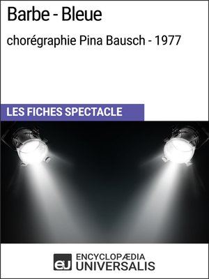 cover image of Barbe-Bleue (chorégraphie Pina Bausch--1977)