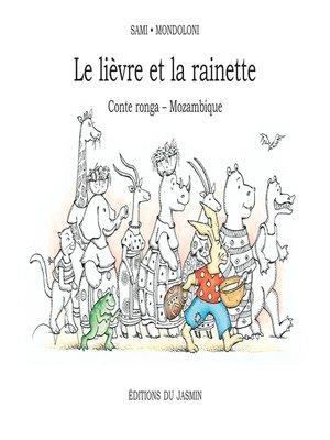 cover image of Le lièvre et la rainette
