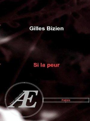 cover image of Si la peur