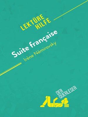 cover image of Suite française von Irène Némirovsky (Lektürehilfe)