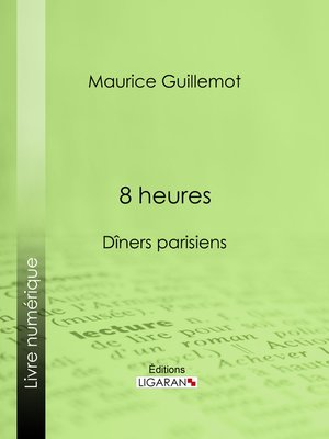 cover image of 8 heures
