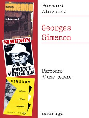 cover image of Georges Simenon