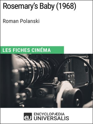 cover image of Rosemary's Baby de Roman Polanski