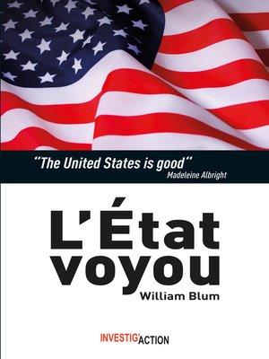cover image of L'État voyou