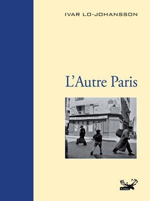 cover image of L'Autre Paris
