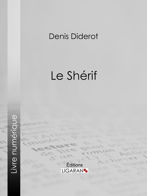 cover image of Le Shérif