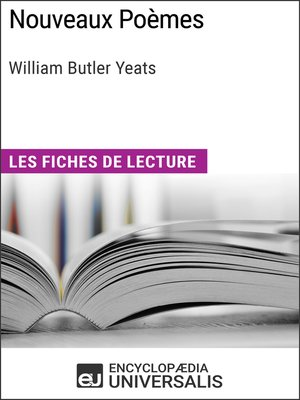 cover image of Nouveaux Poèmes de William Butler Yeats