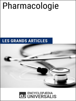 cover image of Pharmacologie