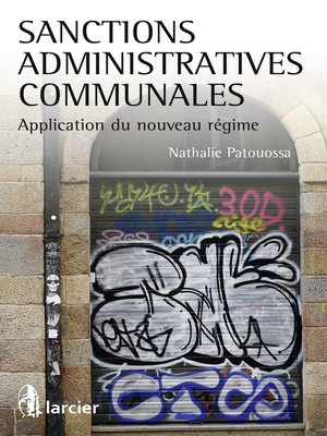 cover image of Sanctions administratives communales