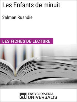 cover image of Les Enfants de minuit de Salman Rushdie