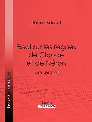 cover image of Essai sur les règnes de Claude et de Néron