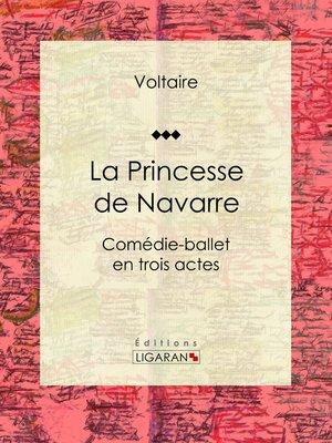 cover image of La Princesse de Navarre