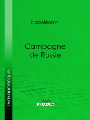 cover image of Campagne de Russie