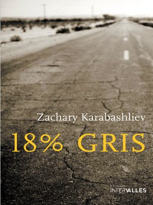 cover image of 18% gris