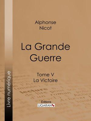 cover image of La Grande Guerre
