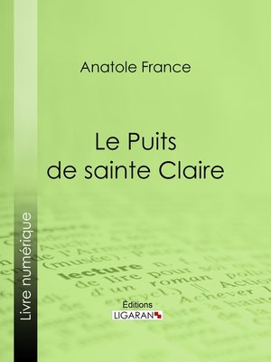 cover image of Le Puits de sainte Claire