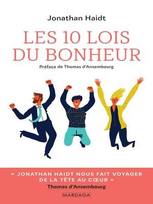 cover image of Les 10 lois du bonheur
