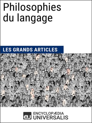 cover image of Philosophies du langage