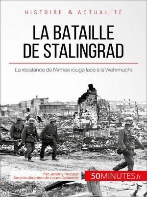 cover image of La bataille de Stalingrad