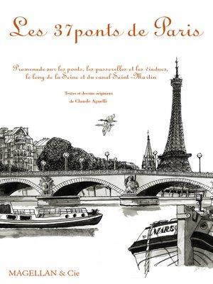 cover image of Les 37 ponts de Paris