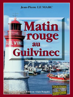 cover image of Matin rouge au Guilvinec