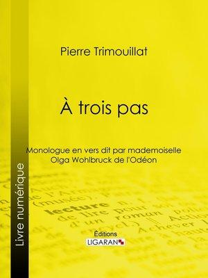 cover image of À trois pas