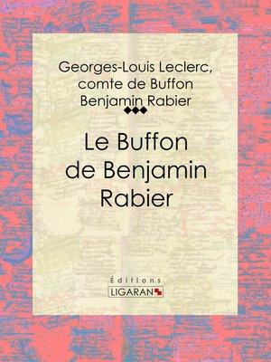 cover image of Le Buffon de Benjamin Rabier
