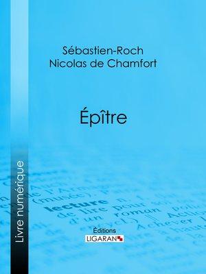 cover image of Épître