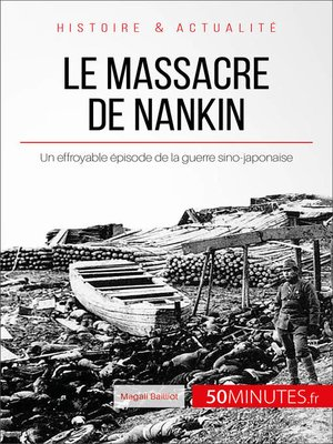 cover image of Le massacre de Nankin