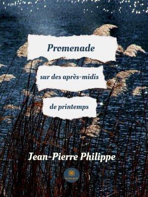 cover image of Promenade sur des après-midis de printemps