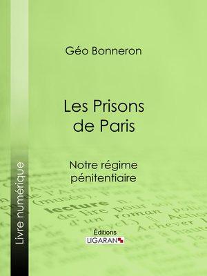 cover image of Les Prisons de Paris