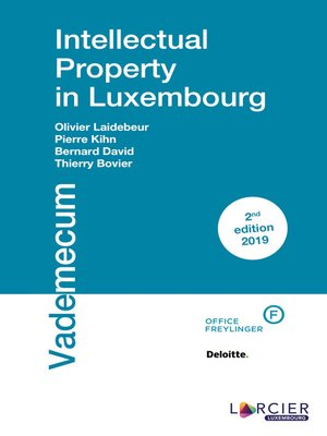 cover image of Intellectual Property in Luxembourg