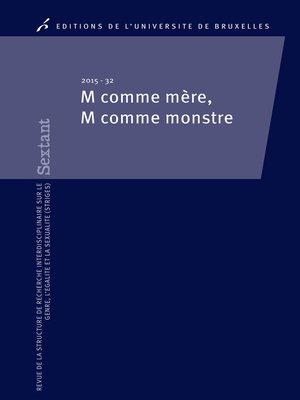 cover image of M comme mère