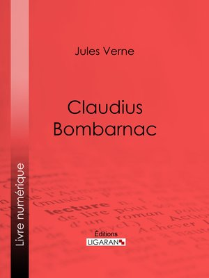cover image of Claudius Bombarnac