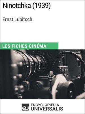 cover image of Ninotchka d'Ernst Lubitsch