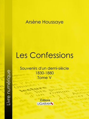 cover image of Les Confessions