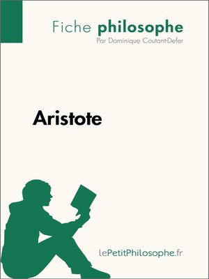 cover image of Aristote--Fiche philosophe
