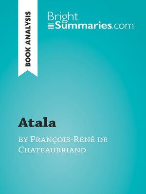 cover image of Atala by François-René de Chateaubriand (Book Analysis)