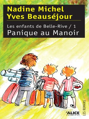 cover image of Panique au Manoir