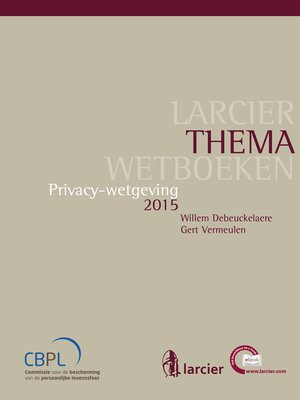 cover image of Privacywetgeving