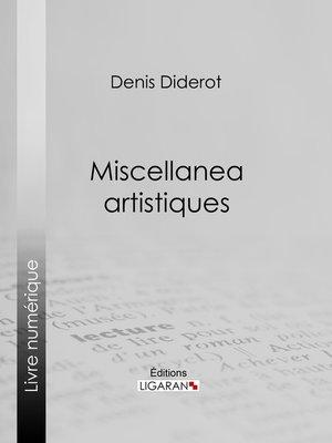 cover image of Miscellanea artistiques